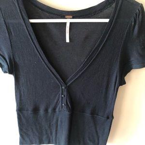 Women's crop shirt
